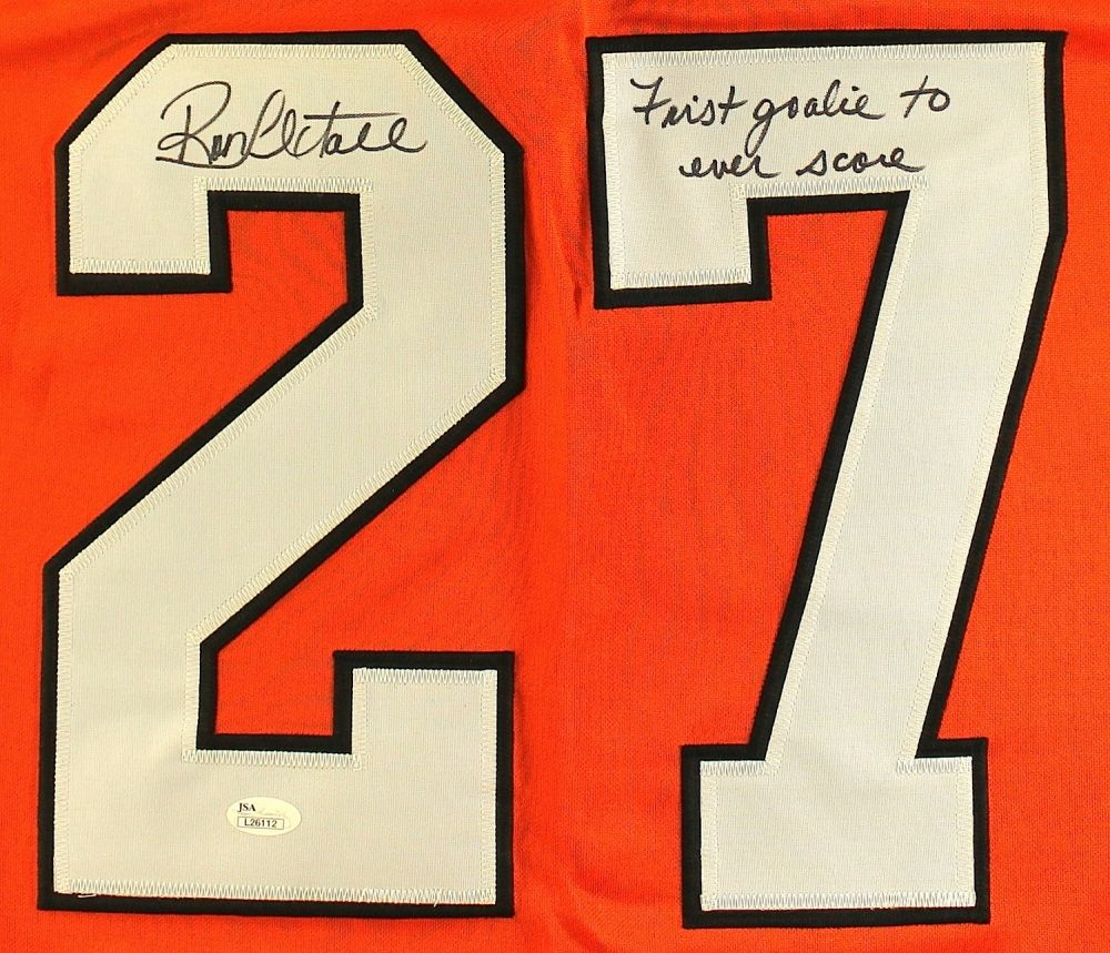 35104d6f8 ... Image 2   Ron Hextall Signed Flyers Jersey Inscribed