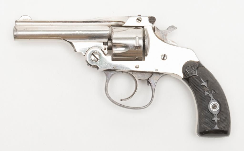 Forehand Model 1901 By Hopkins Allen Top Break Da Revolver 32