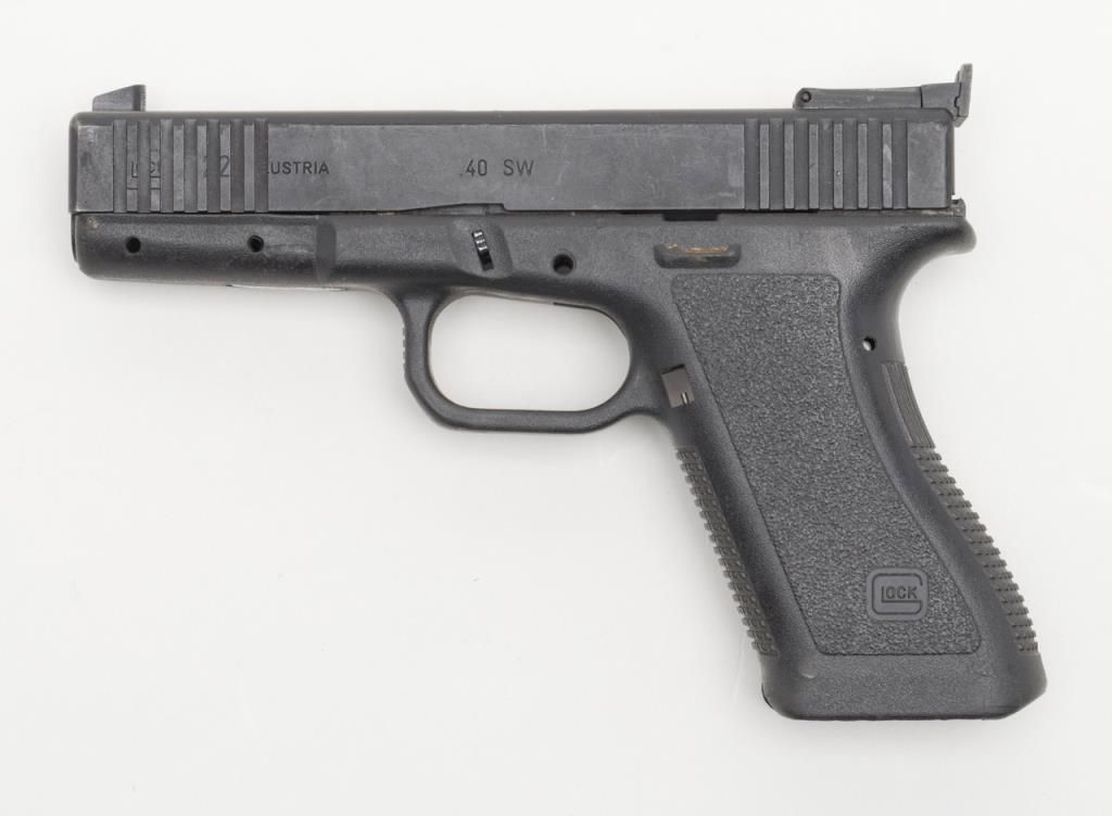 Glock Model 22 frame and slide only; no small parts, barrel or ...
