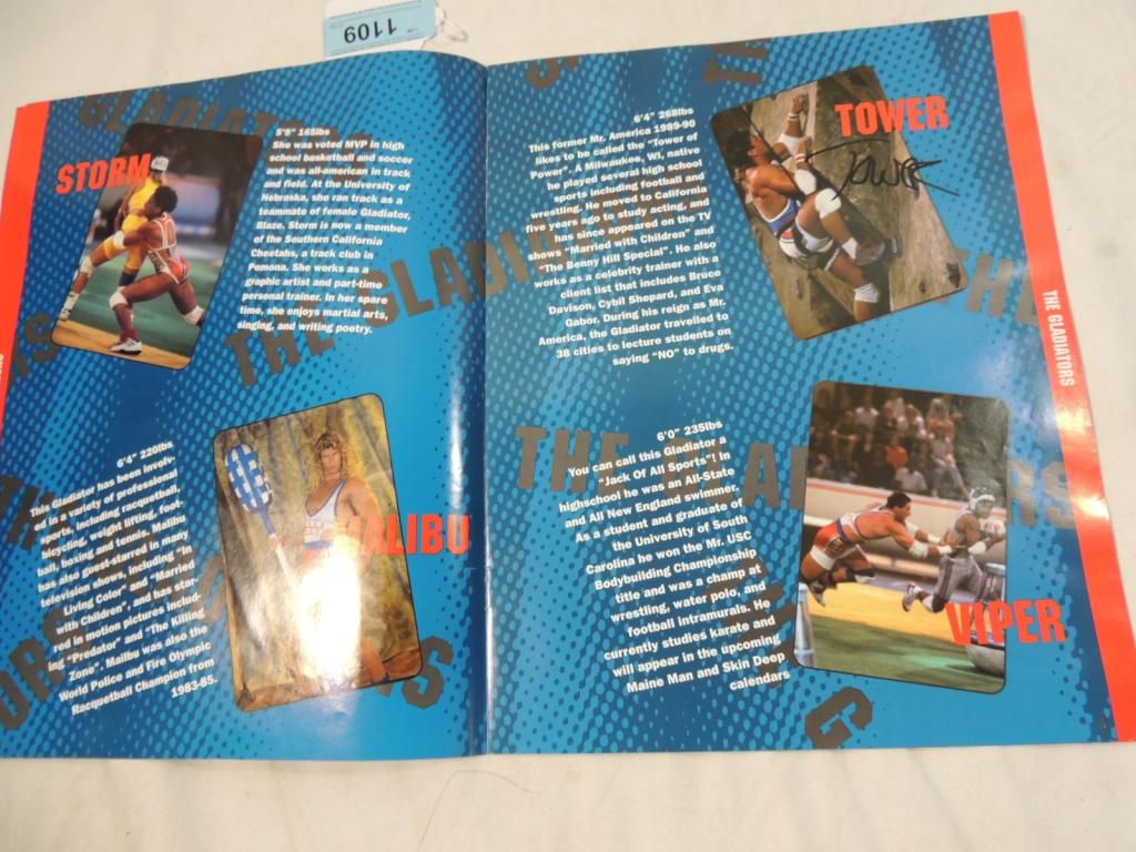 ... Image 3 : AMERICAN GLADIATORS LIVE TOUR PROGRAM ...