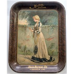 Anaheim Beer Tray, Union Brewing Co. Beer Tray