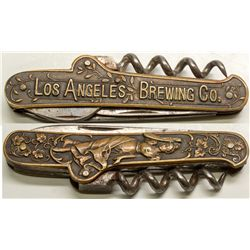 Los Angeles Brewing Company knife