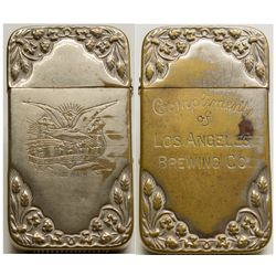 Los Angeles Brewing Company match holder