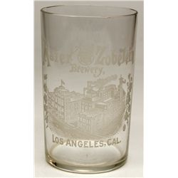 Maier and Zobelein Brewery glass
