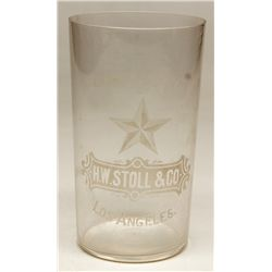 H.W. Stoll & Co. Glass