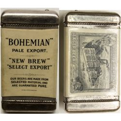 Bohemian New Beer / Buffalo Brewery match holder