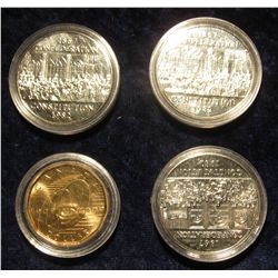 801. (3) 1867-1982 Confederation Constitution Canada Prooflike Dollars, and 1909-2009 Canada Proofli