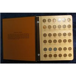 817. 1935-2009S U.S. Lincoln Cent Set in a World Coin Library Album. Most of the coins dated after 1