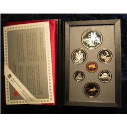 1148. 1690-1990 Henry Kelsey Commemorative Silver Canada Proof Set. Original as issued.