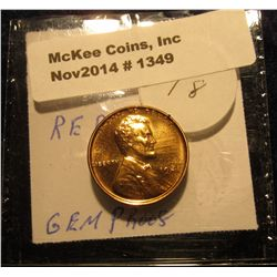 1349. 1941 P Proof 67 Lincoln Cent. Gem. PCGS bid is $160.00, but this one is not slabbed.