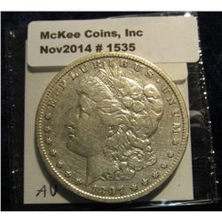 1535. 1897 S Morgan Silver Dollar. Book value $35.00.