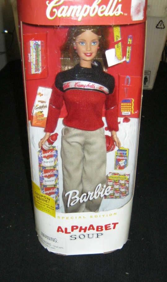 Campbell S Soup Barbie Doll