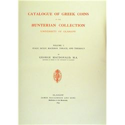 Greek Coins in the Hunterian Collection