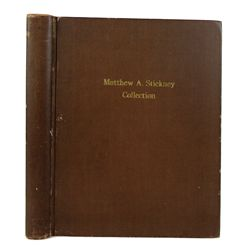 A Plated Stickney Catalogue