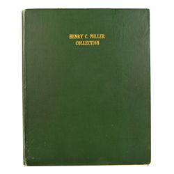 A Plated Copy of Elder's 1917 Miller Sale