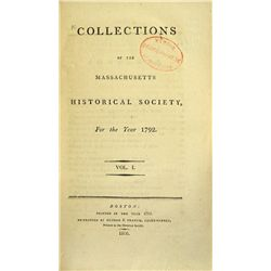 MHS Collections and Proceedings Set