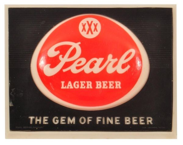 Pearl Lighted Beer Sign