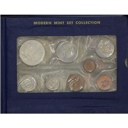South African Mint Collection 1974, 1975, 1976, 1977, 1978, 1979, 1980, 1981