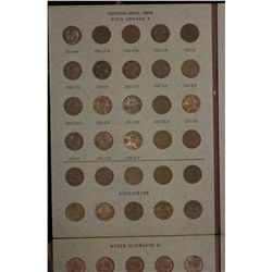 Canada Small Cents Collection 1920 to 1981