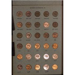 Canada PL Sets,1 c to $1, 1970, 1971,1972, 1973, 1975, 1987, 1990, 1992