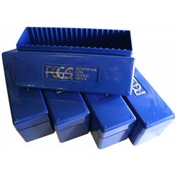 5 PCGS Boxes, Great for storage
