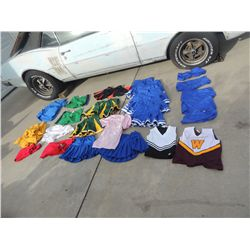 BRING IT ON HUGE HORDE OF CHEERLEADER WARDROBES NO RESERVE!