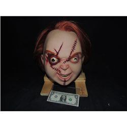 CURSE & SEED OF CHUCKY ACTOR WORN SCREEN MATCHED FULL HEAD MASK