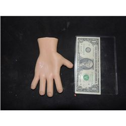 CURSE OF CHUCKY SCREEN USED HERO SILICONE PUPPET RIGHT HAND