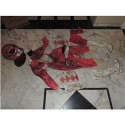 MIGHTY MORPHIN POWER RANGERS SCREEN USED PINK RANGER SUIT FROM PILOT COMPLETE