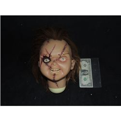 SEED OF CHUCKY HEAD FROM VERY FIRST SIDESHOW DOLL PRODUCED