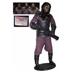 PLANET OF THE APES [1968] SCREEN USED GORILLA WARDROBE ON FIGURE