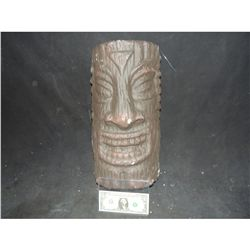 TIKI GOD IDOL MASK OR WALL HANGING 1