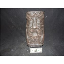 TIKI GOD IDOL MASK OR WALL HANGING 2