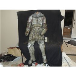 ALIEN MUTANT WARRIOR FULL BODY COSTUME SUIT WITH LIGHTS
