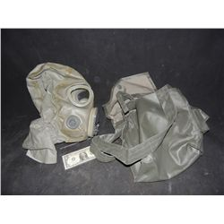 GAS MASK FROM HAZMAT SUIT USED IN UNKOWN PRODUCTION