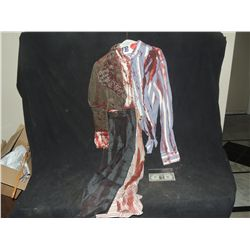 THE WALKING DEAD BLOODY ROTTEN ZOMBIE COMPLETE CLOWN? WARDROBE