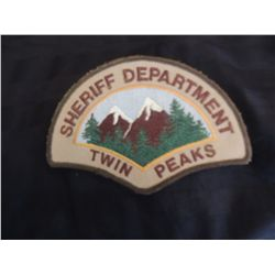 TWIN PEAKS DAVID LYNCH SHERIFF PATCH