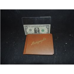 AUTOGRAPH BOOK VINTAGE UNUSED AND INTACT FROM THE 50's