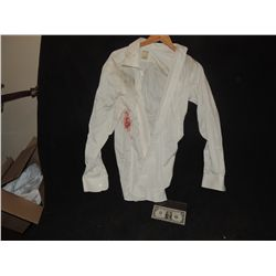 THE WALKING DEAD BLOODY ROTTEN ZOMBIE BUTTON DOWN SHIRT 9