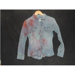THE WALKING DEAD BLOODY ROTTEN ZOMBIE BUTTON DOWN SHIRT 11