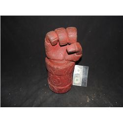 HELLBOY SCREEN USED HERO FIST OF DOOM WORN BY RON PERLMAN