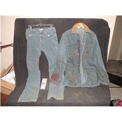 THE WALKING DEAD BLOODY ROTTEN ZOMBIE COMPLETE DENIM WARDROBE 1