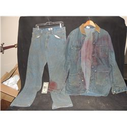 THE WALKING DEAD BLOODY ROTTEN ZOMBIE COMPLETE DENIM WARDROBE 2
