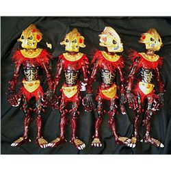 FULL MOON PUPPET MASTER 4 & 5 TOTEM LOT OF 4