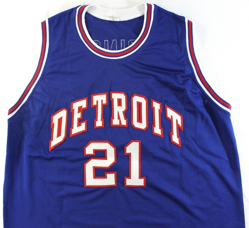 Image 3 Dave Bing Signed Pistons Jersey (JSA COA) . 5c639d957