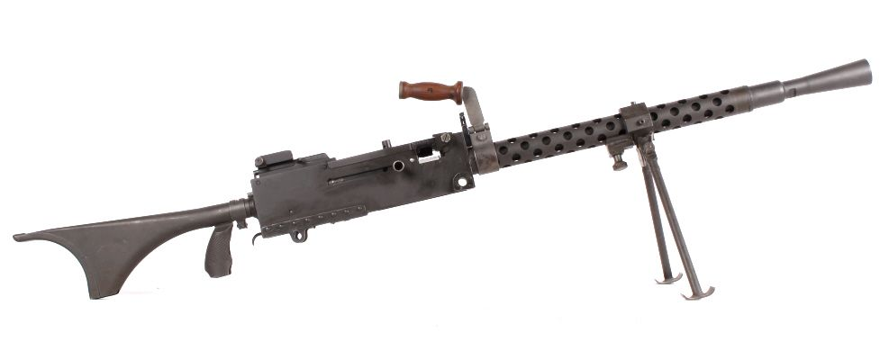 wwii browning m1919 a6 308 machine gun this is a