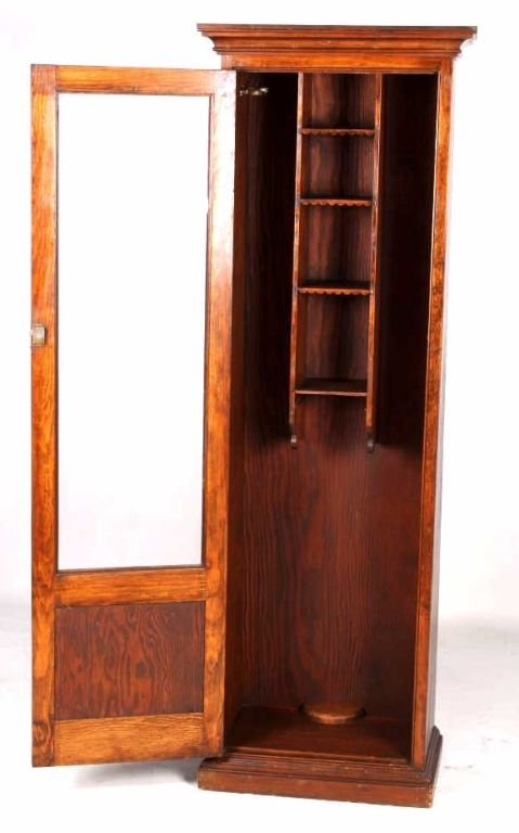... Image 3 : Antique Fly Fishing U0026 Gun Cabinet This Is A Hand C ...