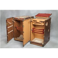 Roy Rogers & Dale Evans Personal Steamer Travel Trunks