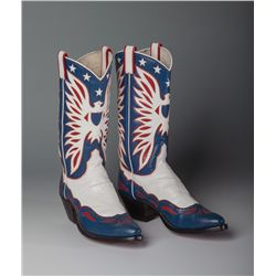 Roy Rogers Red, White and Blue Eagle Boots