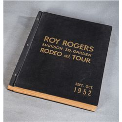 Roy Rogers Rodeo Scrapbook Madison Square Garden 1952